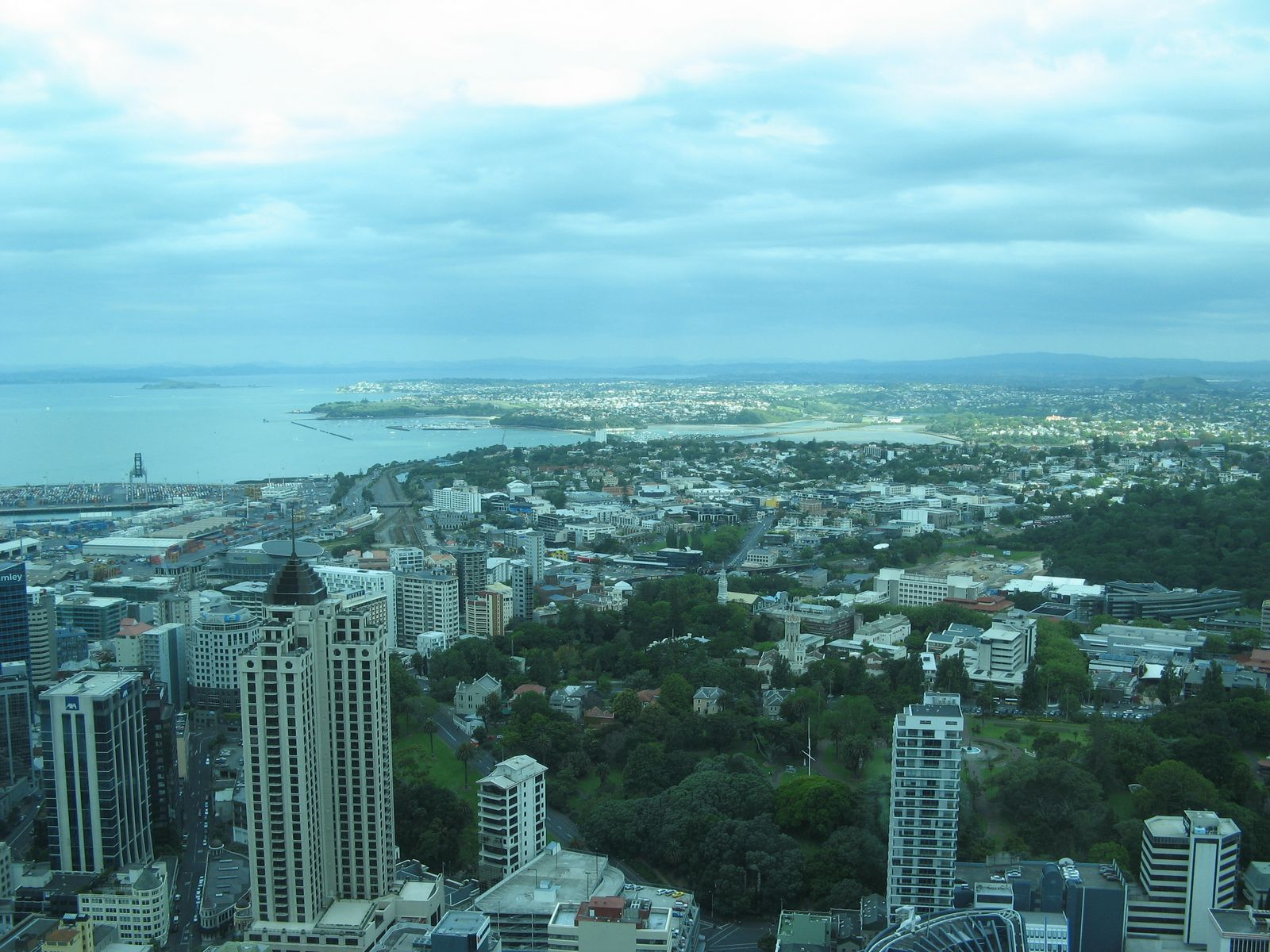auckland dalla sky tower